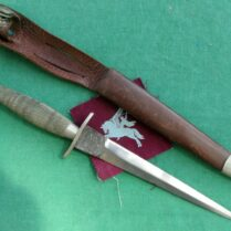 First pattern Luftwaffe dagger  Good clean blade, SMF Solingen
